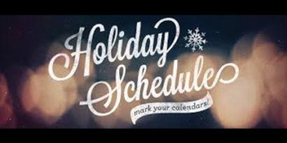 December/January Dates
