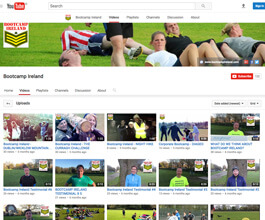 Bootcamp Ireland Youtube Channel