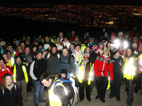 Bootcamp Ireland Night Hike