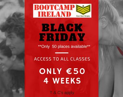 black friday bootcamp ireland