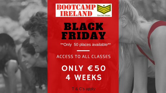 black friday bootcamp ireland