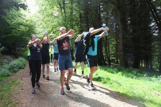 ticknock bootcamp ireland mountain session