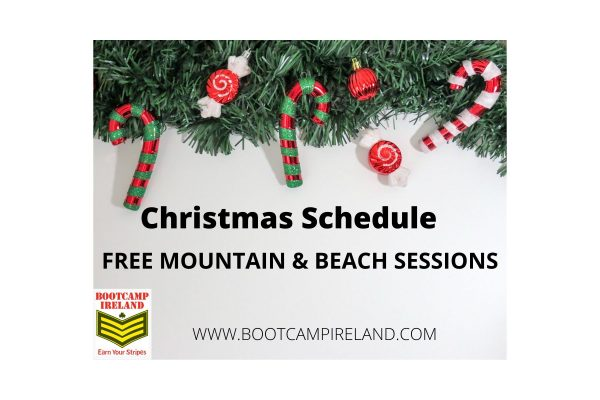 bootcamp ireland christmas schedule
