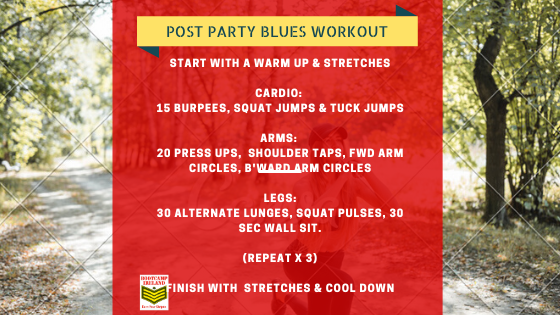 Post Party Workout!